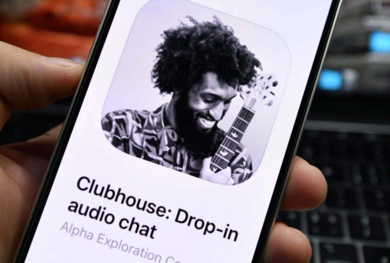 Le réseau social Clubhouse